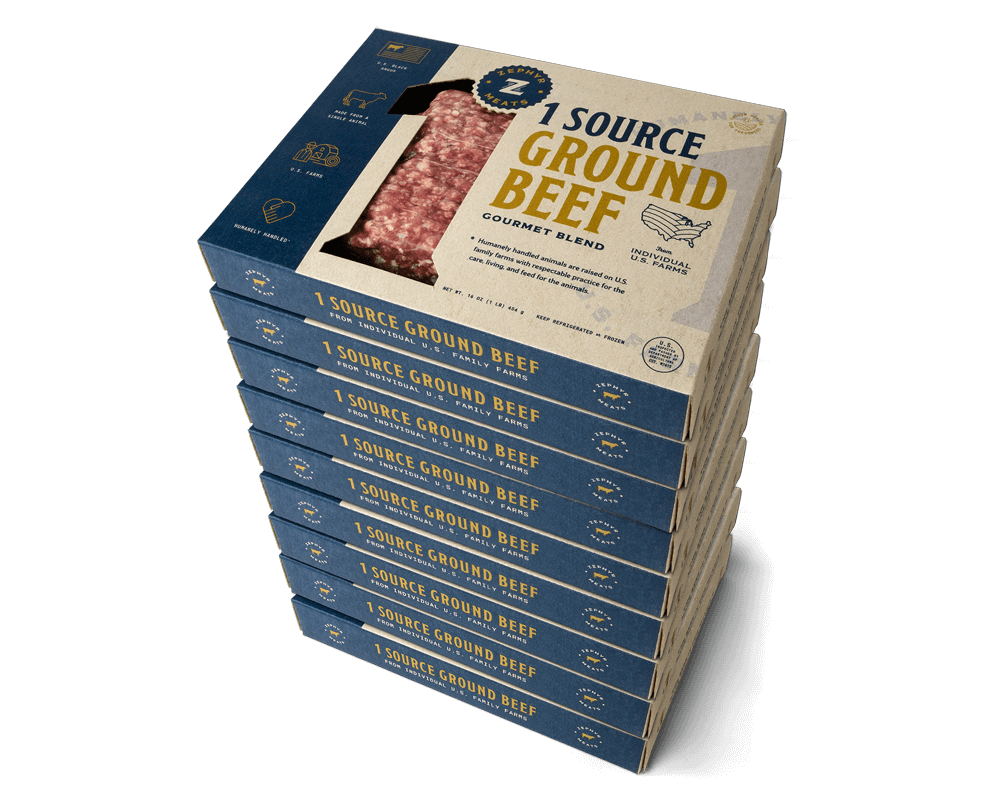 1 Source Ground Beef 9 Pack